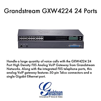 Amazon com: Grandstream GXW4224 24 Port FXS Gateway: Computers
