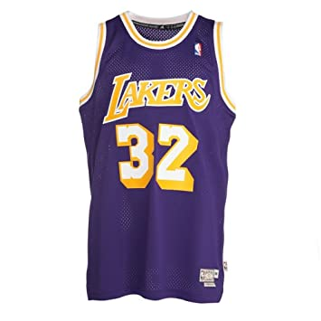 Adidas Camiseta Leyenda Magic Johnson 2ª: Amazon.es: Deportes y aire libre