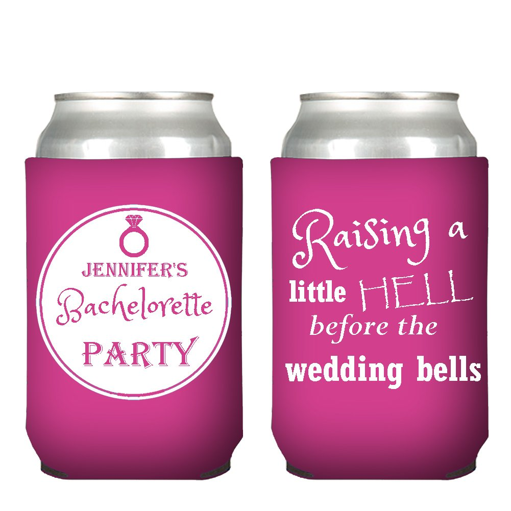 Amazon.com: Customized Wedding Can Coolers, To Have and to Hold ...