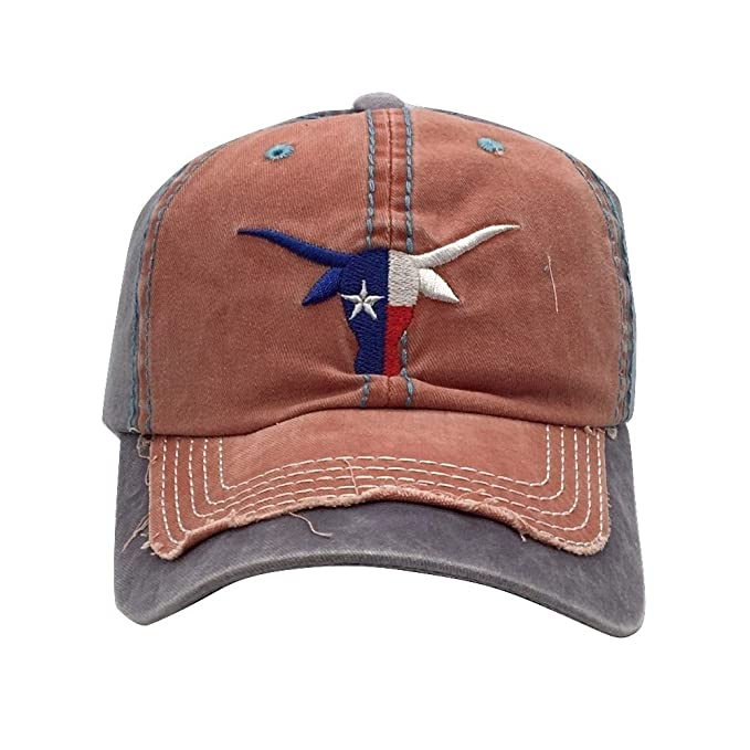 texas longhorn baseball caps uk longhorns cap distressed hat cotton amazon women clothing store official