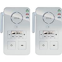 Interphone sans fil m-e GmbH FS 2.1 blanc 99 canaux