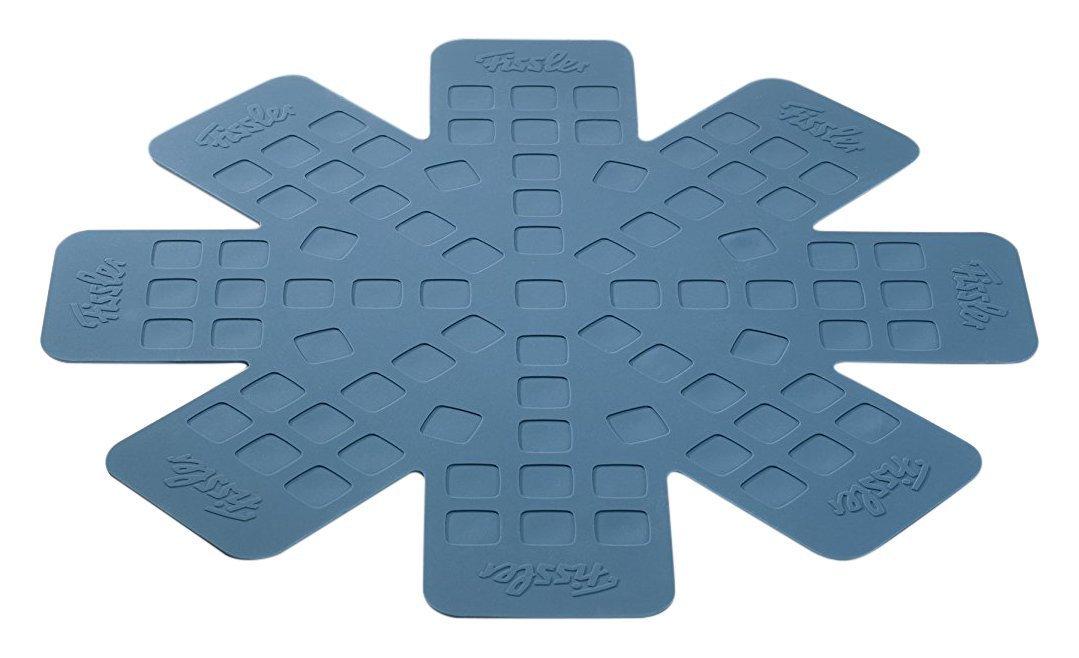 Fissler 100402000 Fine protect Stapelhilfe 2 St/ück,Blau