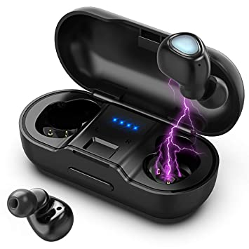 Amazon.com: Auriculares inalámbricos Vproof [Bluetooth 5.0 ...