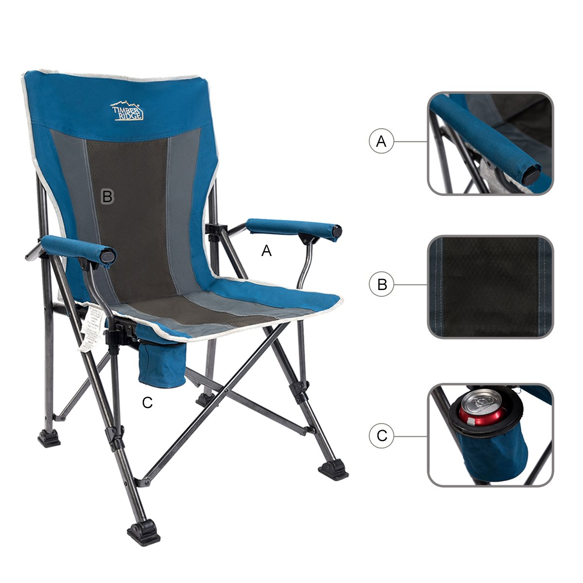 Camping Chairs For Tall People People Living Tall