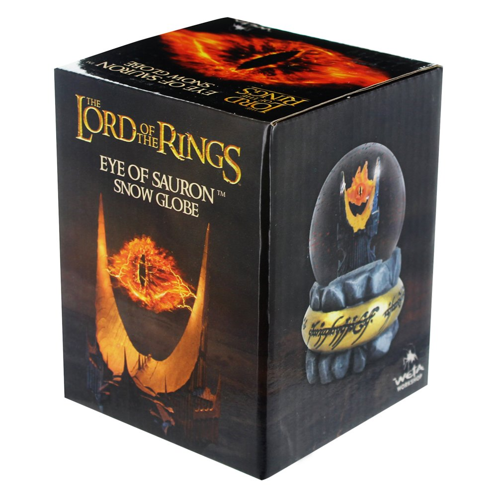 Amazon.com: Lord of the Rings Eye of Sauron Snow Globe: Toys & Games