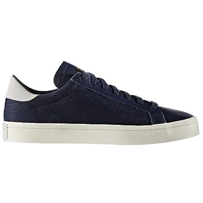 adidas original Courtvantage Weiß, Blau,Schuhe Herren