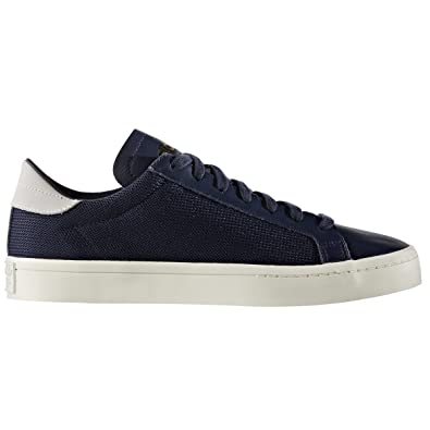 the latest 7e647 839ef adidas original Courtvantage Weiß, Blau,Schuhe Herren. Sneaker (43 13