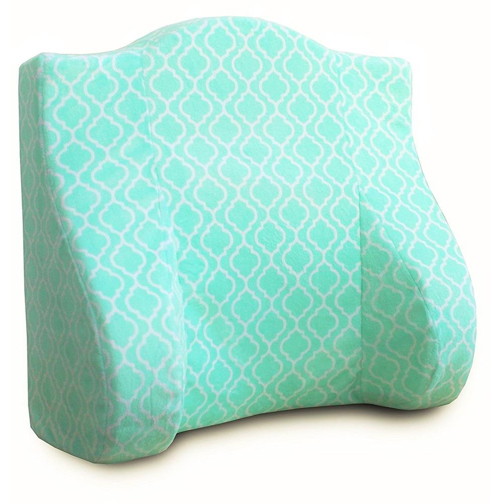 Back Buddy All-In-One Support Pillow for Pregnancy, Feeding, and Postpartum, Jade