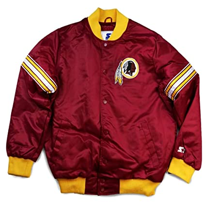 finest selection 36751 29c34 Amazon.com : Washington Redskins Interception Track Jacket ...