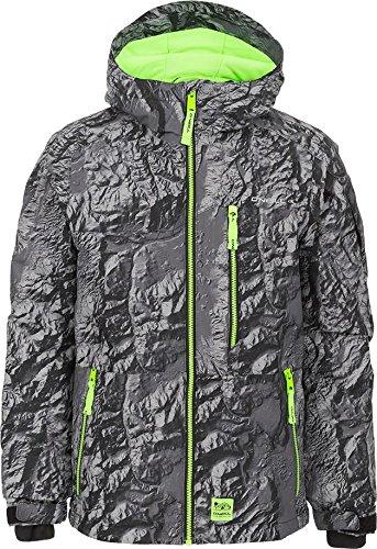 5fa9f460 Amazon.com : O'Neill Boys Archive Snowboard Jacket Grey AOP Size 164 ...