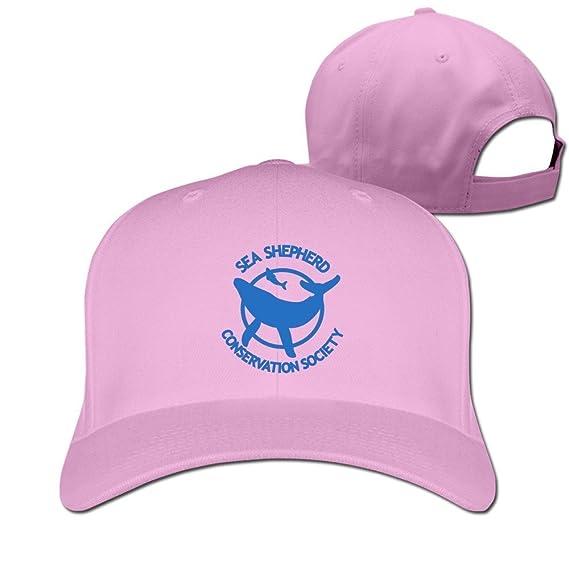 9d12acd349a BestKK Black Sea Shepherd Whale Logo Adjustable Sports Hat  Amazon.fr  Vêtements  et accessoires