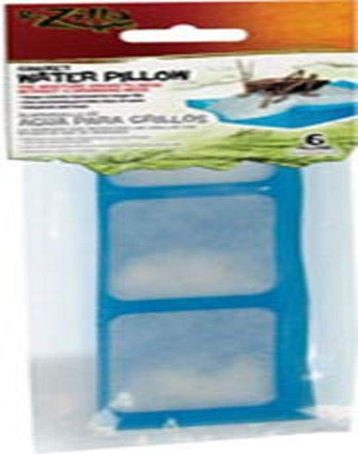 Zilla Reptile Food Cricket Water Pillows, 6-Pack