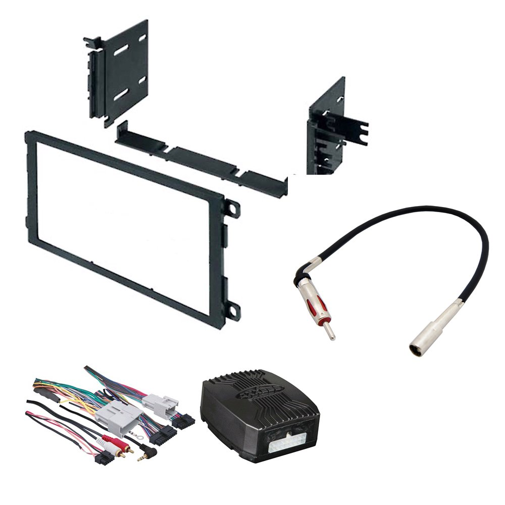 CAR STEREO RADIO DASH INSTALLATION MOUNTING KIT W/ WIRING HARNESS FOR SELECT BUICK CADILLAC CHEVROLET GMC HUMMER ISUZU OLDSMOBILE PONTIAC VEHICLES by American International , Metra, Scosche