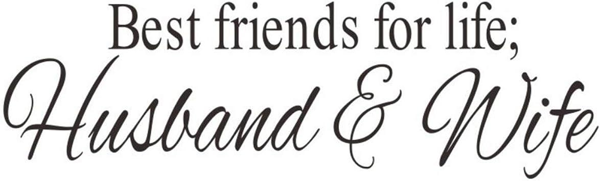 Amazon.com: Dupetoner Best Friends for Life Husband & Wife ...