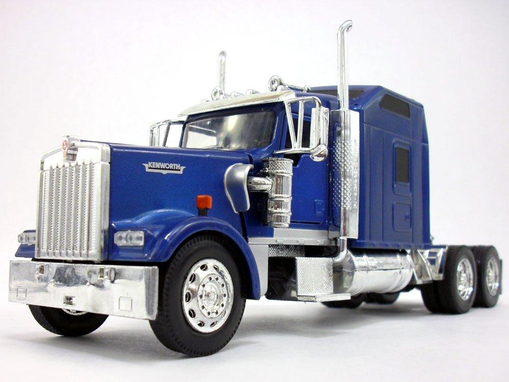 Amazon.com: Kenworth W900 Truck Diecast Metal 1/32 Scale Model ...
