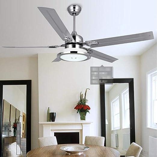 lámpara de Techo, lámpara de Techo para salón, lámpara de decoración Dormitorio, ventiladores de Techo con ventiladores verdes en el restaurante de estilo Chino, Salón de LED, ventilador de C: Amazon.es: Hogar
