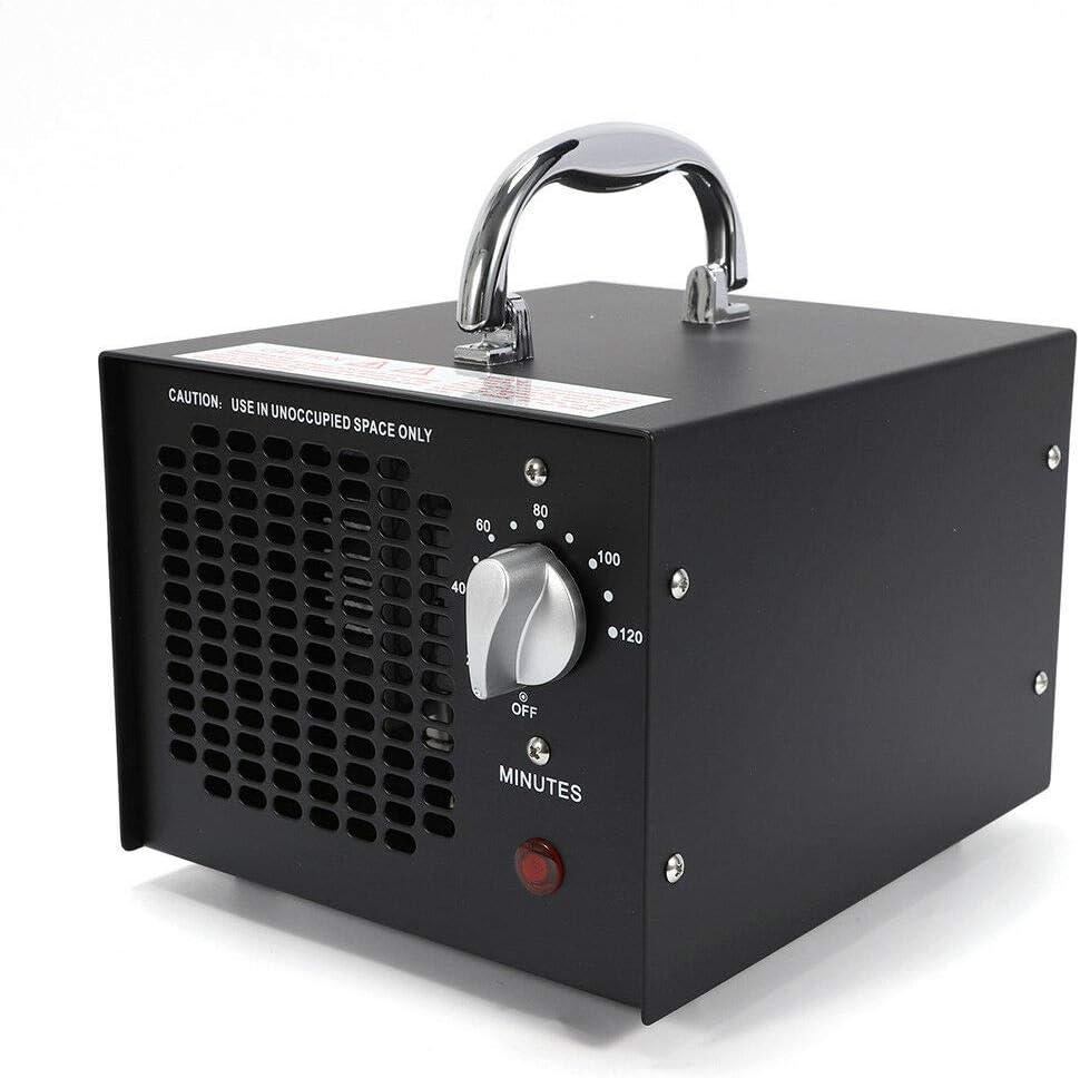 OU BEST CHOOSE Generador de ozono Comercial, purificador de Aire de 5000 MG/h, esterilizador de desodorizador Industrial para casa, Oficina, Barco y Coche