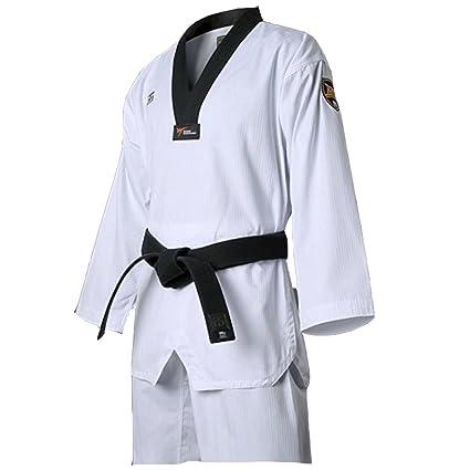 899f34d03b06 Mooto Taekwondo MTX S2 Base karaté v-Cou Arts Martiaux Uniformes pour Homme  110 (
