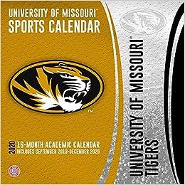 University Of Missouri Calendar 2020 Missouri Tigers 2020 Calendar: Inc. Lang Companies