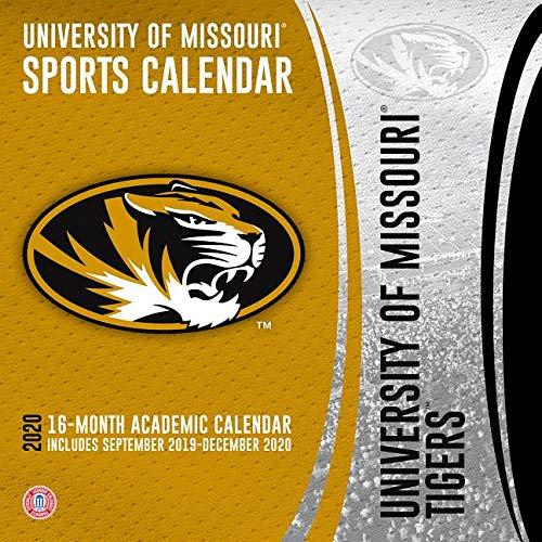 University Of Missouri Calendar 2020 Missouri Tigers 2020 Calendar: Inc. Lang Companies: 9781469368511