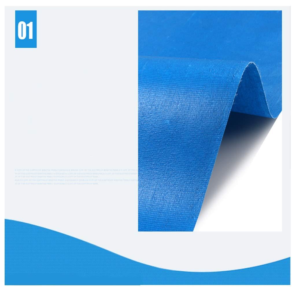 Telo impermeabile resistente blu resistente resistente resistente all'aria aperta prossoezione solare in PVC doppio spessore tela tenda parasole per tende da campeggio copertura 480 g   metro quadrata ( dimensioni   3x3m ) B07LH21XTC 3x3m | Menu elegante e robusto  | Grande V 923ef3