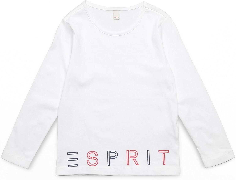 ESPRIT Long Sleeve Tee-Shirt Maglia a Maniche Lunghe Bambina