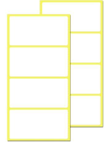 20x A4 White Autoadesivo Adesivo Di Carta Foglio Indirizzo Etichetta UK STOCK MATT