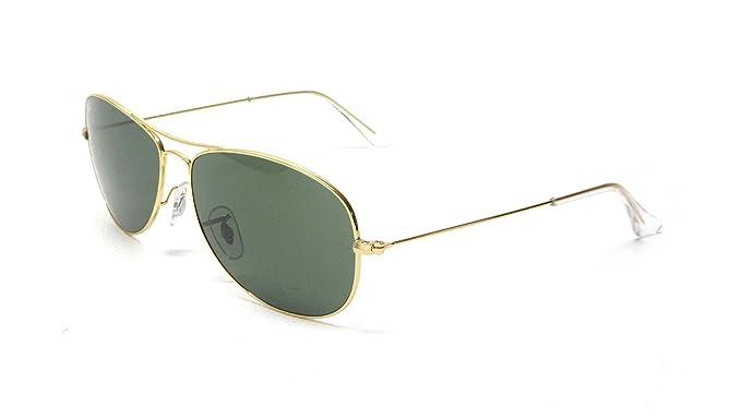 1e37468eb7 Amazon.com: Ray-Ban RB3362 Cockpit Sunglasses, Arista/Green Gradient ...
