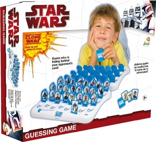 IMC Toys 720022 - Clone Wars Spiel - Ratespass