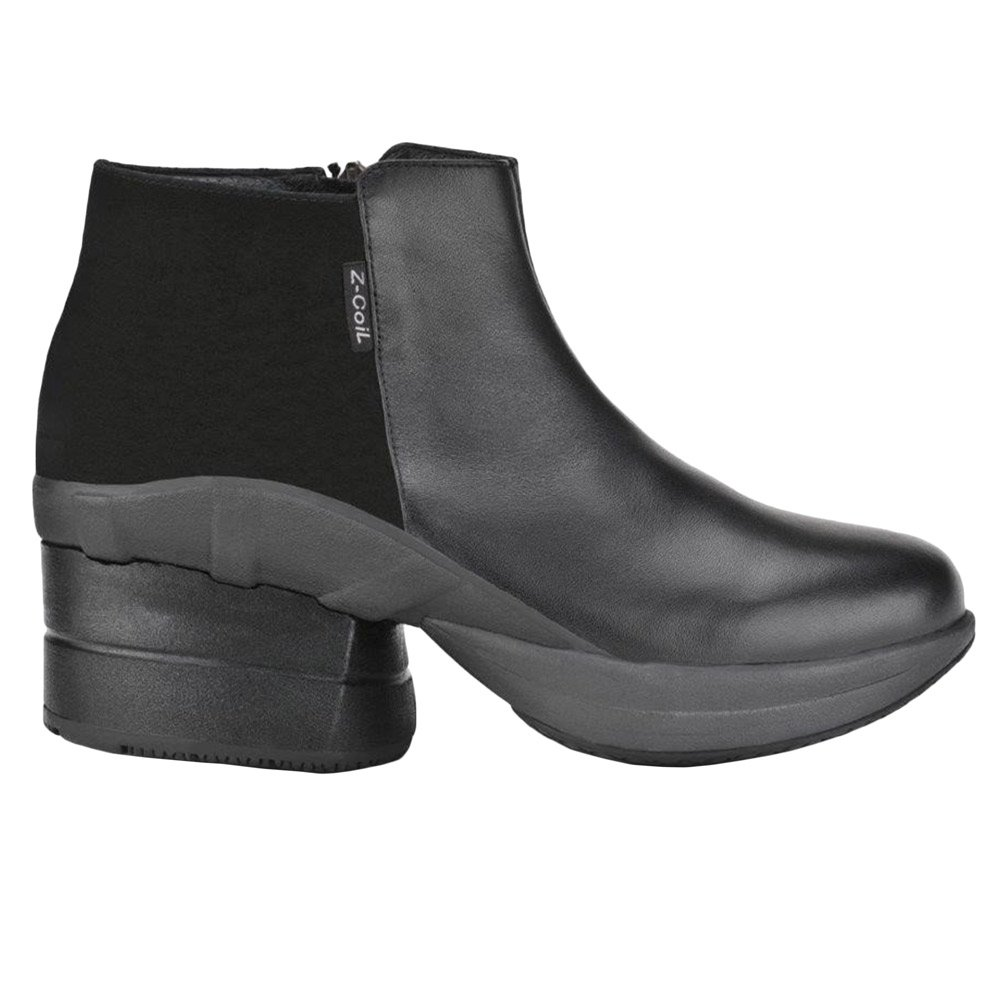 Z-CoiL Pain Relief Footwear Women's Olivia Black Boots B004W3403O 9 E US|Black