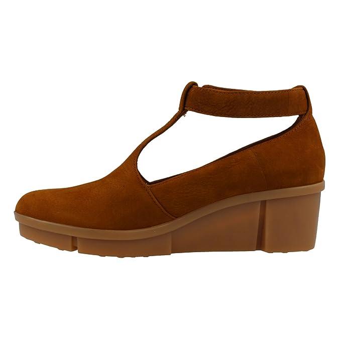Clarks Zapato 26132153 Pola Sophia Tan: Amazon.es: Zapatos y