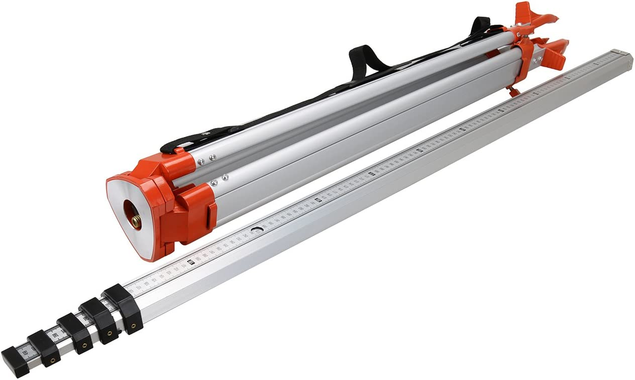 5M Staff 1.65M Aluminum Tripod Set Laser Level Levelling Construction Measuring