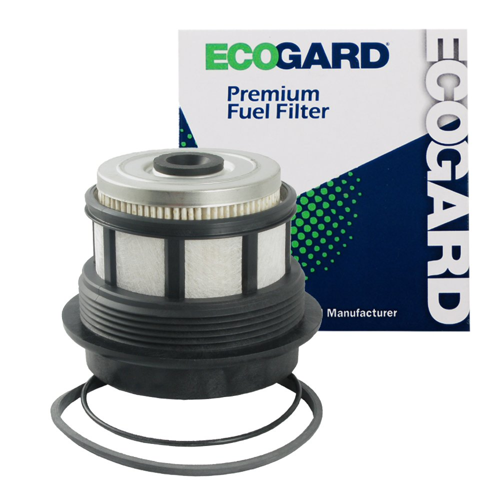 ECOGARD XF59292 Diesel Fuel Filter - Premium Replacement Fits Ford F-250 Super Duty, F-350 Super Duty, Excursion, E-350 Super Duty, E-350 Econoline Club Wagon, E-350 Econoline, E-350 Club Wagon