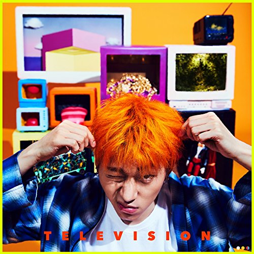 Zico - Television 2nd Mini Cd+Booklet+Photocard+Photo Sticker+Paper toy+Folded Poster On Pack Kpop K-POP