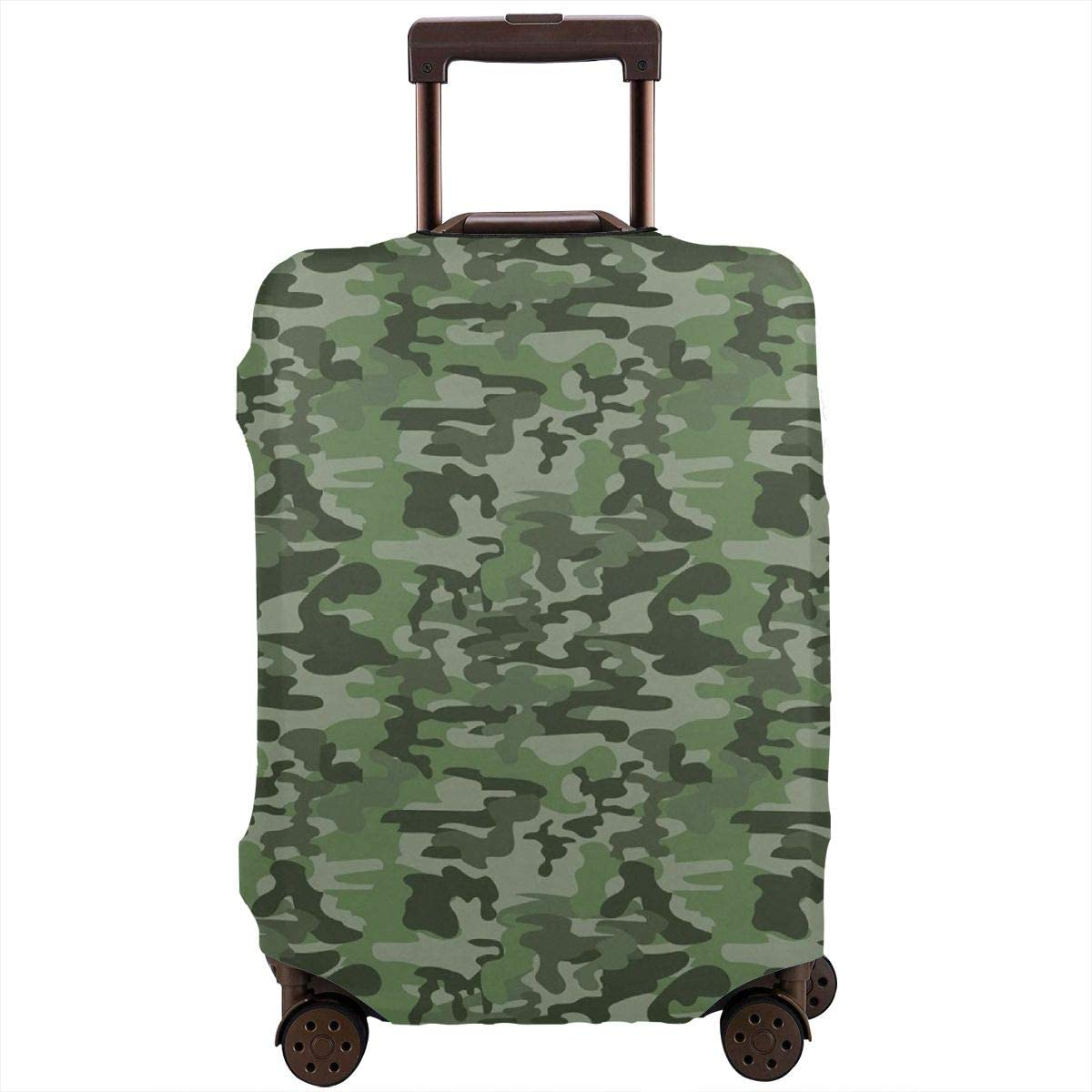 Luggage Cover Forest Green Camouflage Classical Protective Travel Trunk Case Elastic Luggage Suitcase Protector Cover