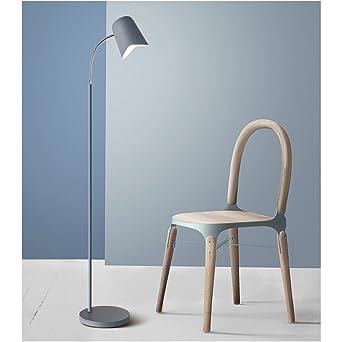 LED Design Stehleuchte Kupfer Stand Lampe Wohnzimmer Lese Licht Boden Leuchten
