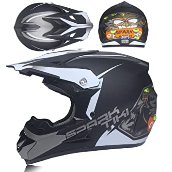 WMING Casco De Motocross, Carreras En La Playa, Casco De Bicicleta De Montaña,