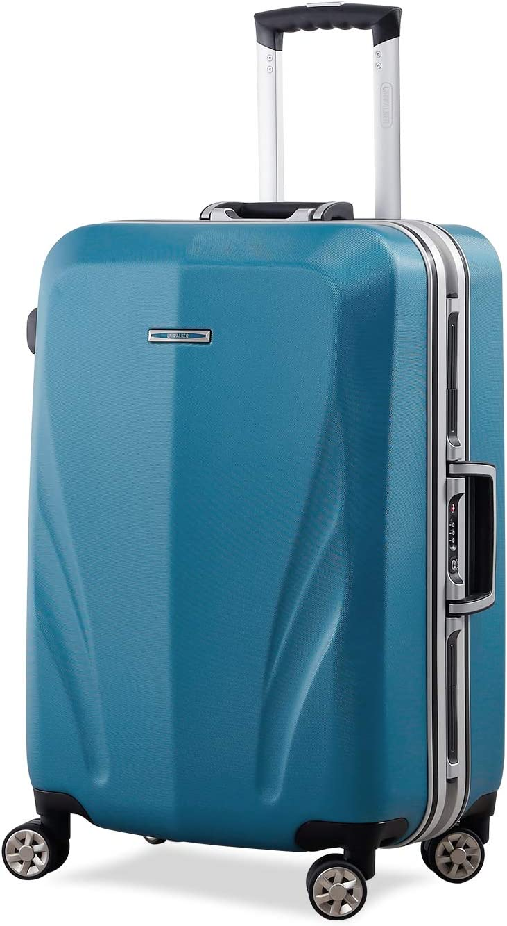 Unitravel Lightweight Hardside Luggage Spinner Suitcase Trunk with TSA Lock