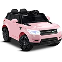 Kids Ride-On Car Range Rover Manual / Remote Control Electric Vehicle Sports Seat with Safety Belt Toy Children Gift
