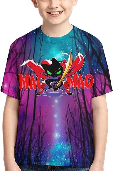 YYTY Mao Mao Heroes O-Cuello Camiseta de Manga Corta ...