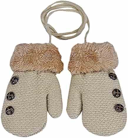 Patchwork Lovely Gloves Clement Women Patchwork Rabbit Mittens Winter Female Plus Full Finger Gloves Clement Attlee