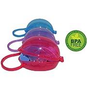 Pacifier Case Parent (Red, Blue & Purple)