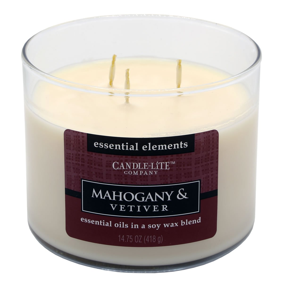 Candle Lite 1542-293 Mahogany and Vetiver 1542293