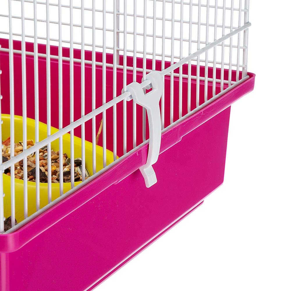 Ferplast Luara Small Hamster Cage | Fun & Interactive Cage Measures Measures 18.11L x 11.61W x 14.8H & Includes All Accessories by Ferplast (Image #5)