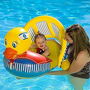 duck poolmaster baby rider inflatable pool. Black Bedroom Furniture Sets. Home Design Ideas