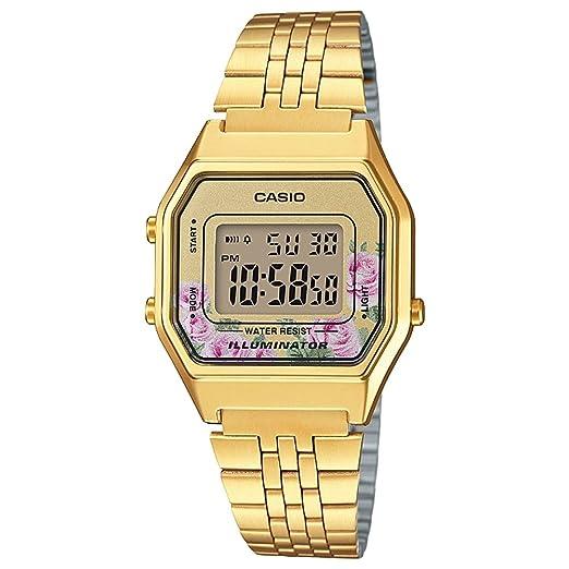 Casio Collection Women's Watch LA680WEGA-4CEF  Amazon.co.uk  Watches eee4a2853ed2