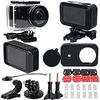 elegantstunning 30 Pcs/Set Full Protect Waterproof Housing Case Kit for Xiaomi Mijia 4K Mini Camera