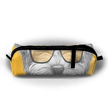 Maltese - Estuche para lápices de perro con gafas de sol ...