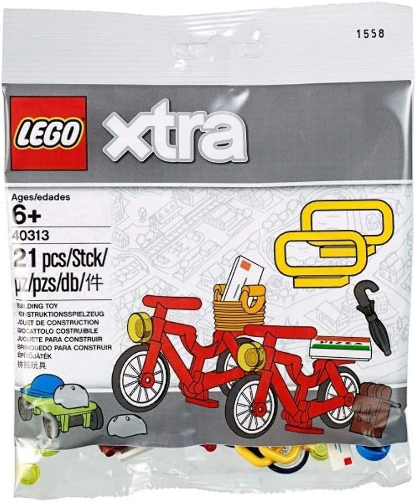 LEGO Bicycles Accessories polybag (xtra) 40313