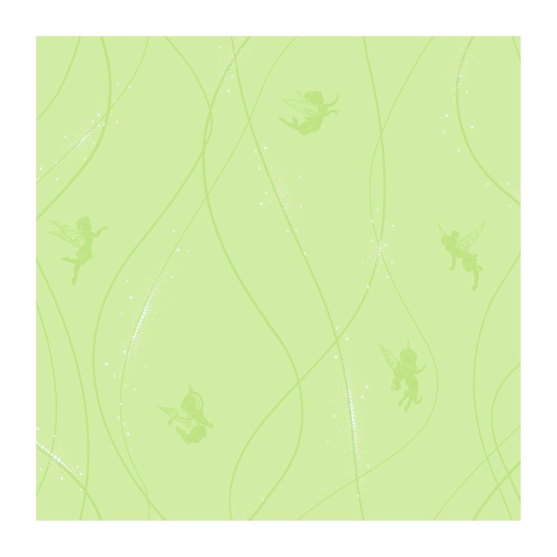 8-Inch x 10-Inch York Wallcoverings DK5906SMP Disney Kids Fairy Stripe Wallpaper Memo Sample